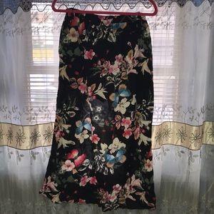 Cotton Candy Shorts - 🎃 Floral Skort